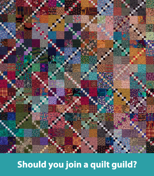 Should you join a quilt guild?