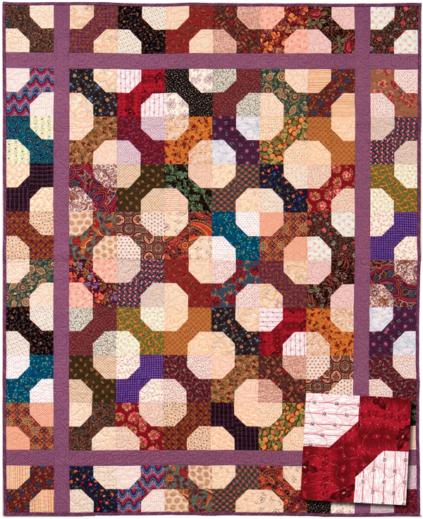 Bow Tie Circles quilt
