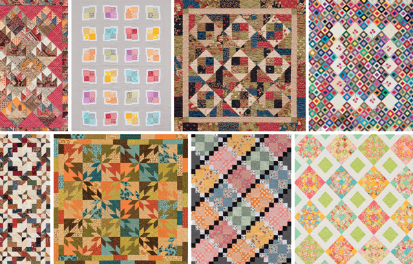 5 tips for precuts - 64 quilt patterns - fabric giveaway! - Stitch ... : fabric quilting - Adamdwight.com