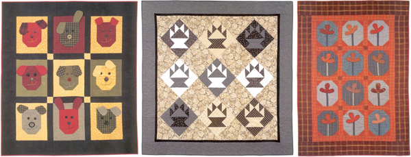 More quilts from Flannel Quilts