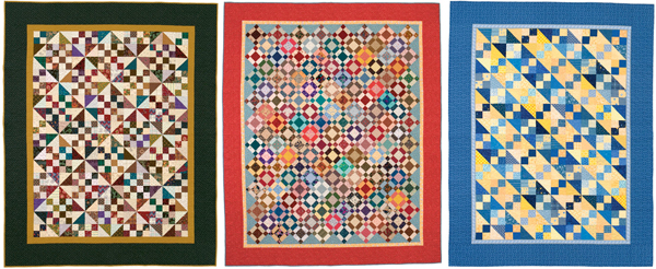 More quilts from Simple Strategies for Scrap Quilts