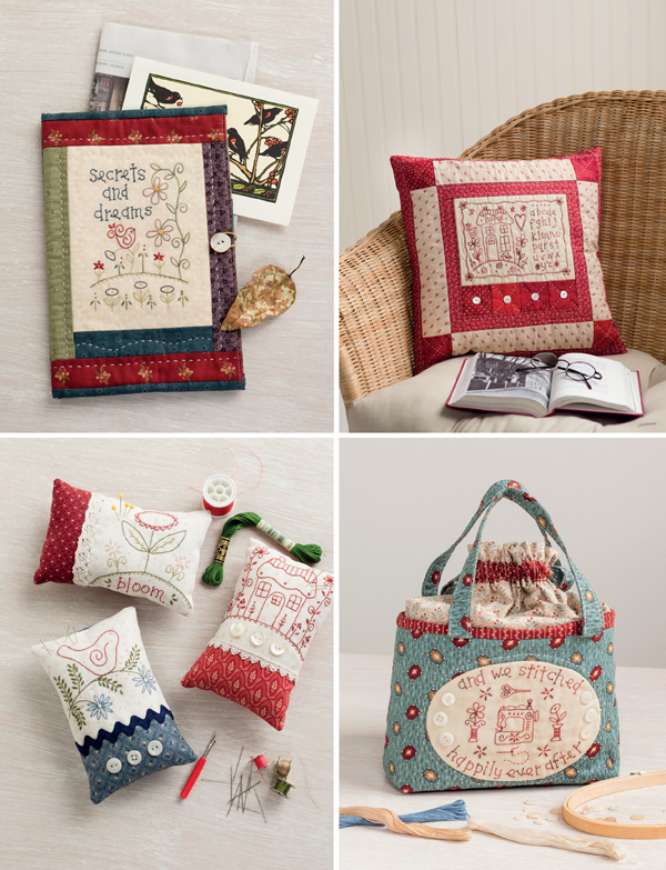 Projects from Patchwork Loves Embroidery