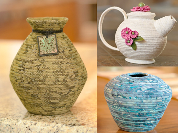 Projects from Sewing Pottery by Machine