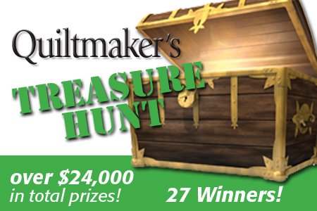 Quiltmaker's Treasure Hunt 2014