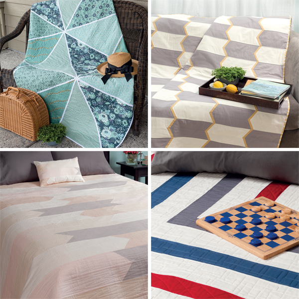 Quilts from Sew a Modern Home