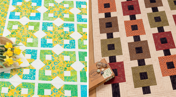 Quilts from Take 5 Fat Quarters