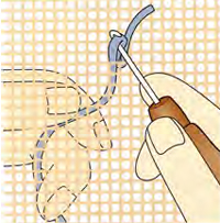 Beautiful Rug Hooking Instructions 1