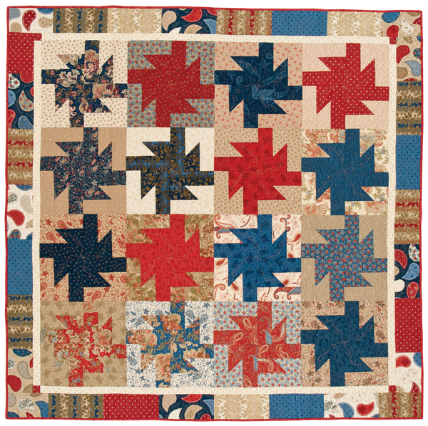 Spin City quilt