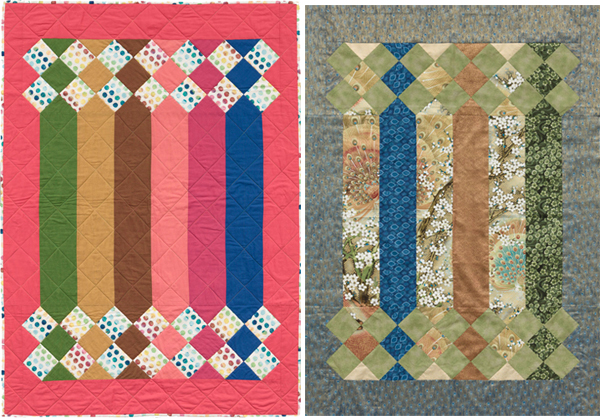 Sticks and Stones quilts