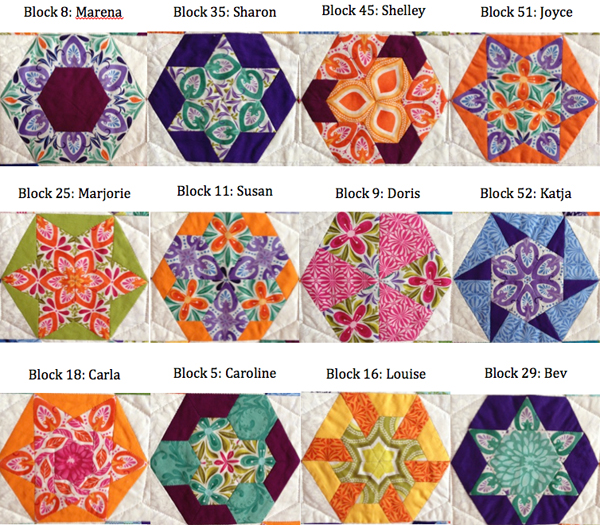 52 new ways to sew a hexagon quilt (+ giveaway!) - Stitch This ... : hexagon quilt ideas - Adamdwight.com
