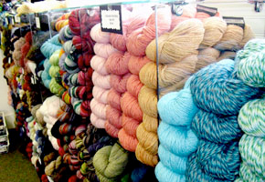Visit your local yarn shop