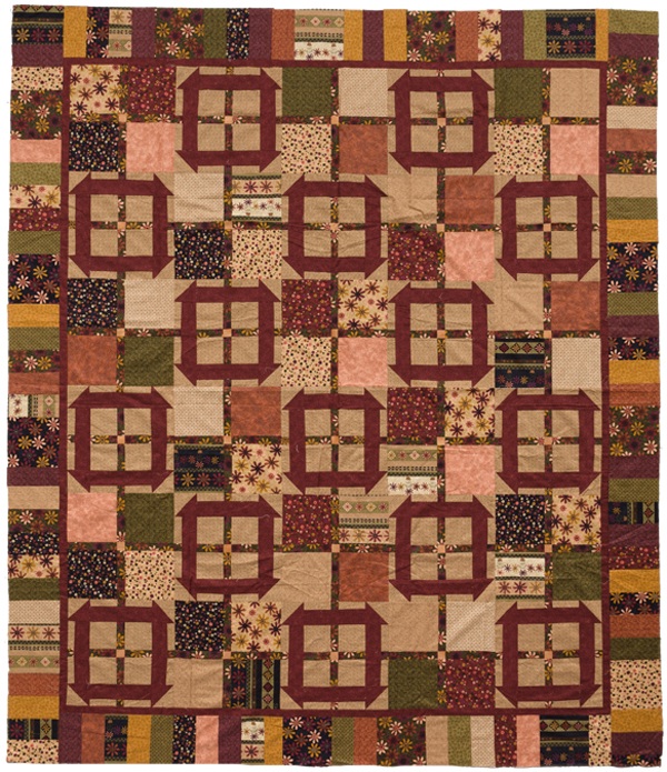 Karen's quilt from Homestyle Quilts