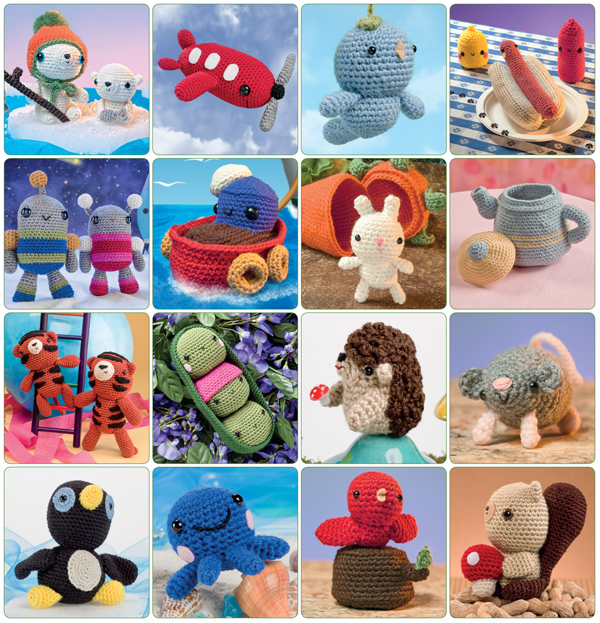 Projects from The Big Book of Little Amigurumi