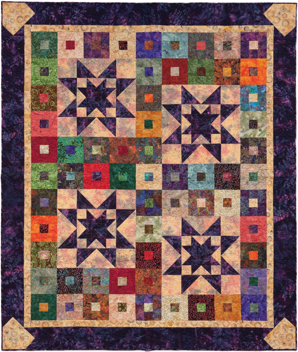 Purple Haze free quilt pattern