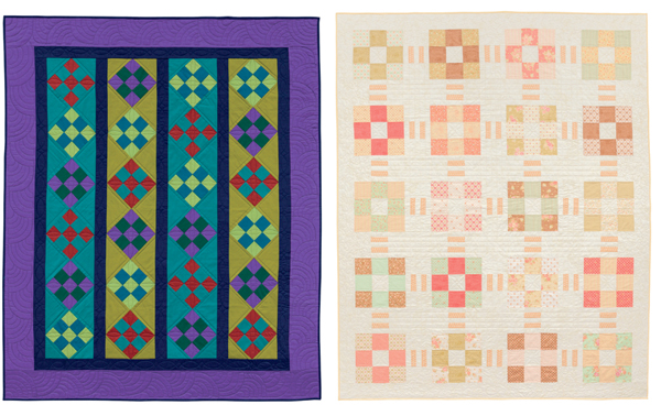 Quilts from Urban and Amish
