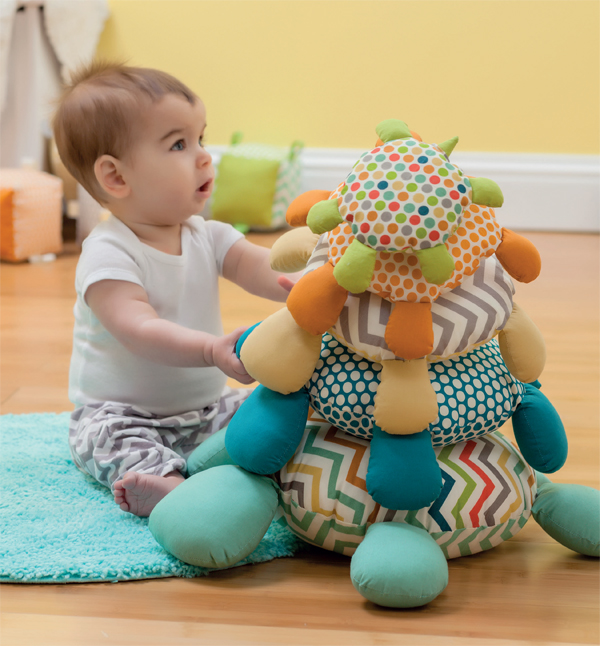 Sewing for baby--Turtle Stacker