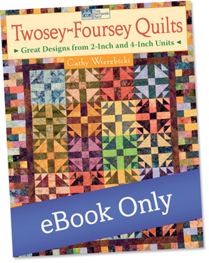 Twosey-Foursey Quilts