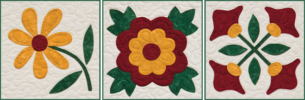 From Easy Applique Blocks