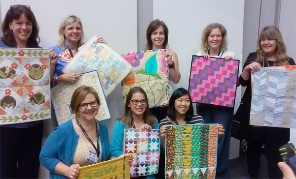 Fun-Size Quilts designers