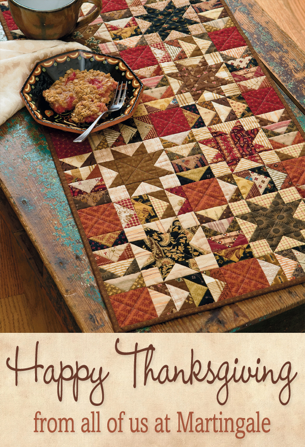Happy Thanksgiving from Martingale