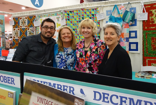 Martingale gang at Quilt Market