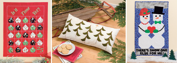 Projects from Celebrate Christmas with That Patchwork Place