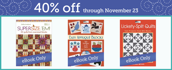 40% of select eBooks this week!