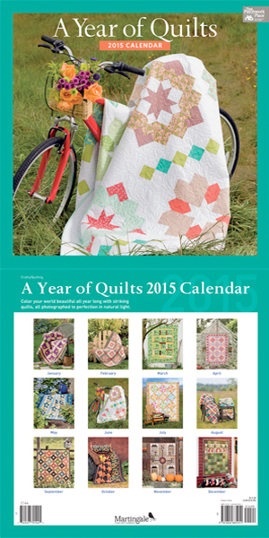 A Year of Quilts 2015 Calendar