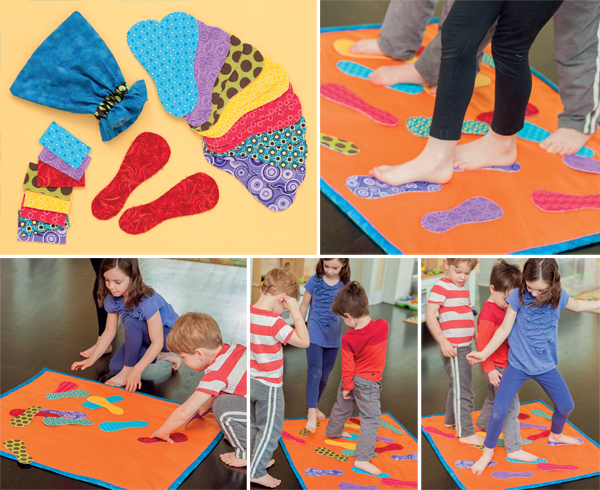 Foot Frenzy game from Sew and Play