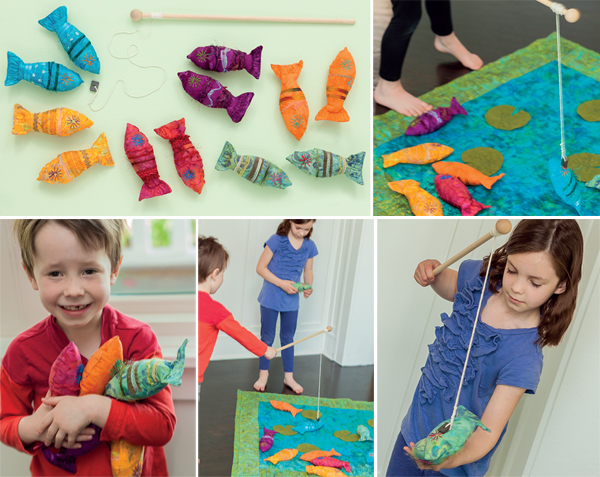 Gone Fishing game from Sew and Play