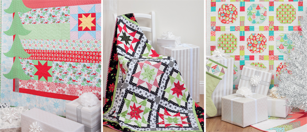 Quilts from Simply Modern Christmas