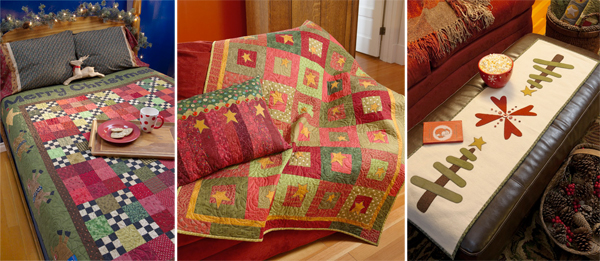 Quilts from Tis the Season