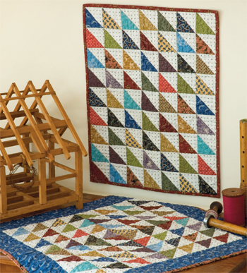 Waste Not Want Not quilts