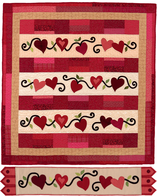 8 heart quilt-block patterns for Valentine s Day - Stitch This! The Martingale Blog