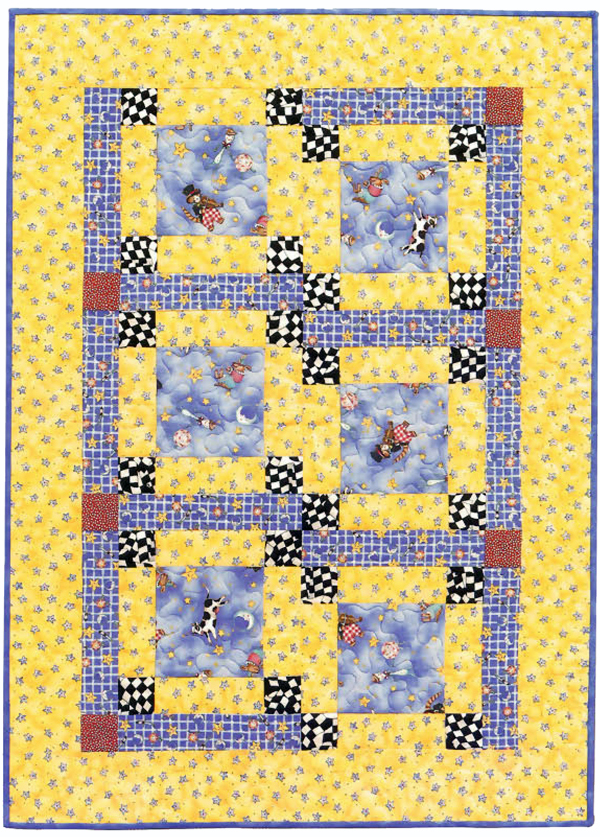 A Simple Babyquilt Patternfree Stitch This The Martingale Blog Best Easy Baby Quilt Patterns