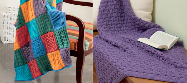 From Pick Your Stitch, Build a Blanket