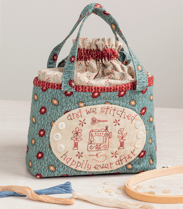 Happily Ever After sewing bag