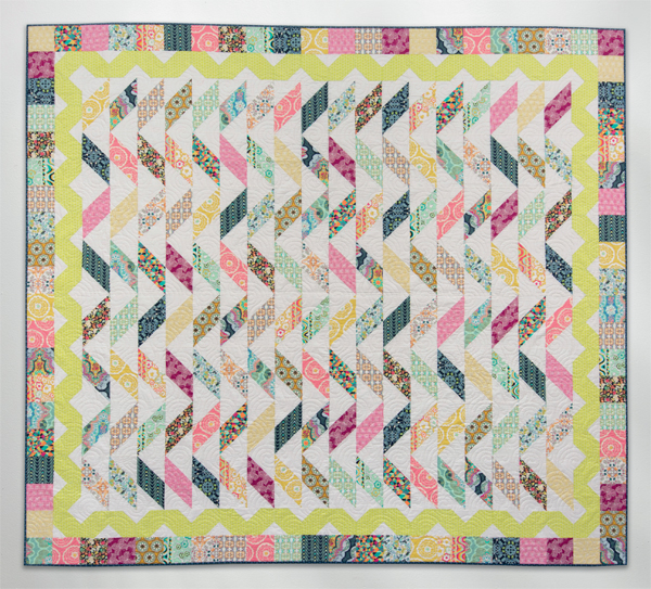 Summertime on Lombard Street quilt