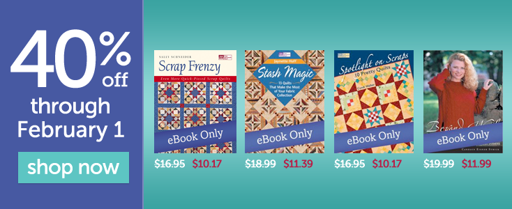 quilt and knit PDF eBooks on sale