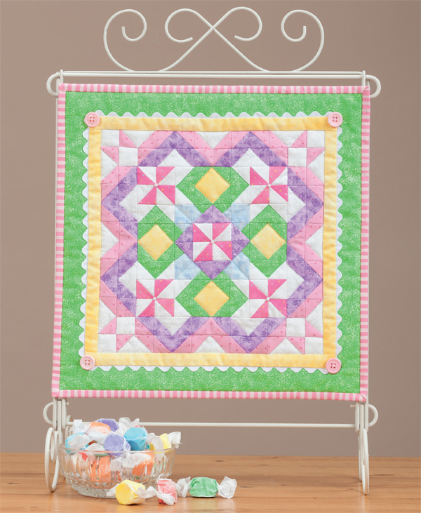 Cotton Candy quilt from Little Gems