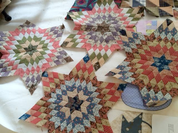 Karen S's All Stars quilt blocks