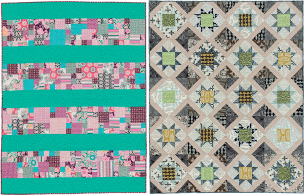 Quilts from Becoming a Confident Quilter