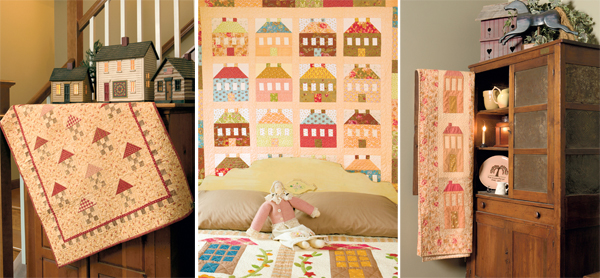 Quilts from Fig Tree Quilts: Houses