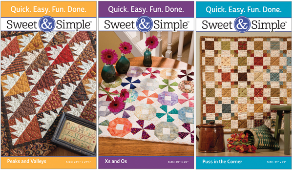 Sweet and Simple quilt patterns