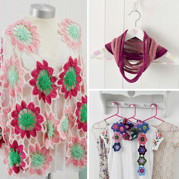 Fashion projects from Boho Crochet