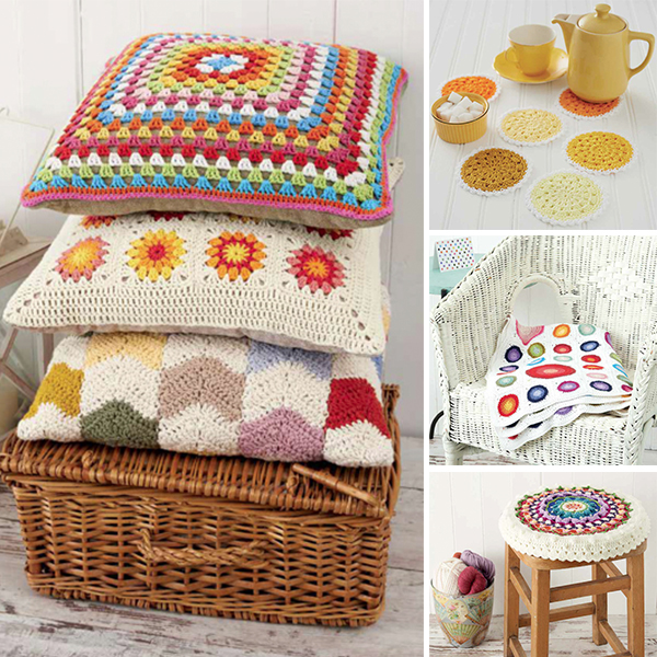 Boho Crochet Patterns : Find crocheted pillows, blankets, rugs, and more in Boho Crochet .
