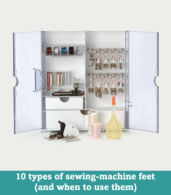 10 types of sewing-machine feet