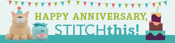 Happy Anniversary, Stitch This!