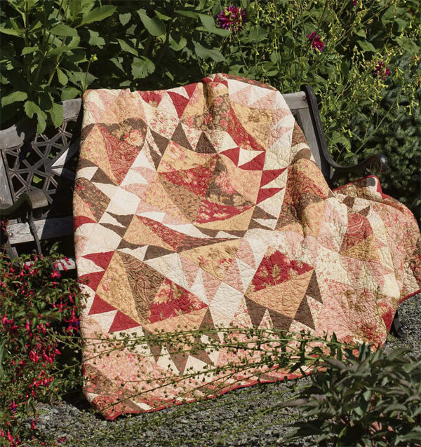 Nice Day Layer Cake quilt