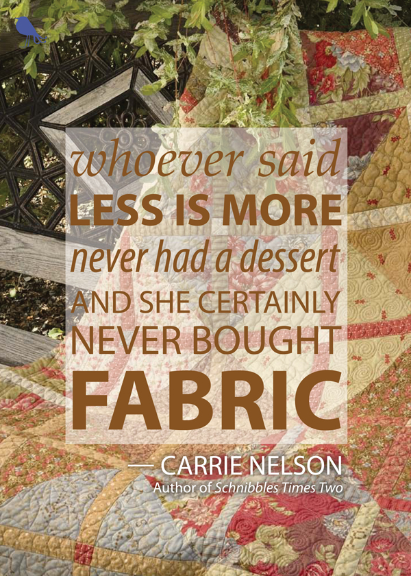 Quilting quote